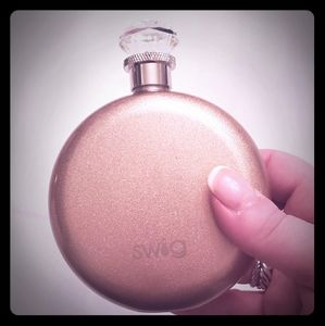 SWIG Rose gold flask